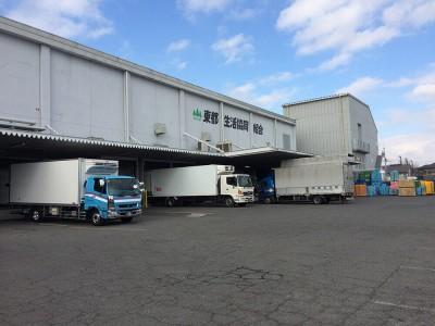 東都生協新座物流センターに行ってきました。